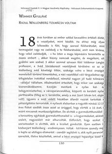 Wimmer Gyuláné: Raoul Wallenberg tolmácsa voltam - könyvrészlet
