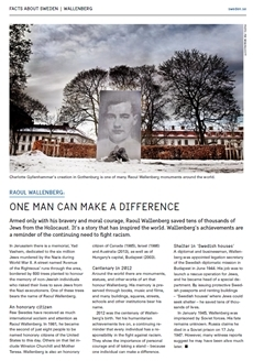 Raoul Wallenberg: Egy ember is megváltoztathatja a világot