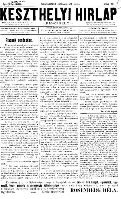 Keszthelyi Hírlap 1912.07.28.