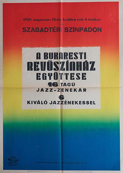 A Bukaresti Revüszínház Együttese