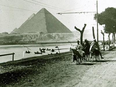 Uránia üvegdiák Egyiptomról