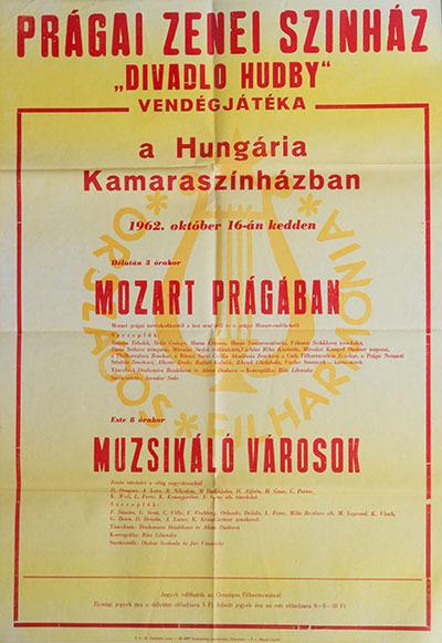 Prágai Zenei Színház vendégjátéka