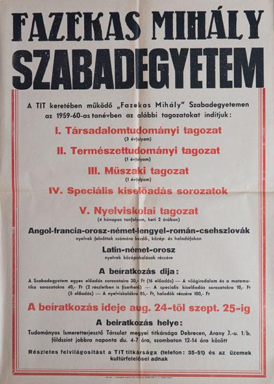 Fazekas Mihály Szabadegyetem