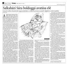 Salkaházi Sára boldoggá avatása elé - újságcikk