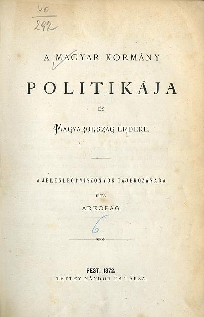 A magyar kormány politikája és Magyarország érdeke