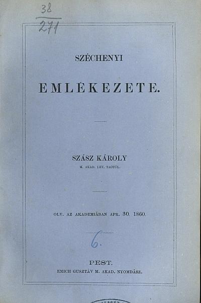 Széchenyi emlékezete