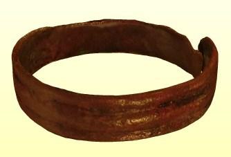 Bronz gyűrű