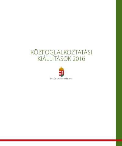 Magyar Nemzeti Digitális Archívum és Filmintézet (MaNDA) a II. Országos Közfoglalkoztatási Kiállításon