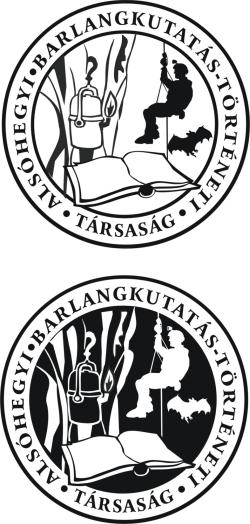 Az Alsó-hegyi Barlangkutatás-történeti Társaság logója