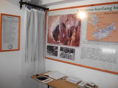 Az Alsó-hegyi Barlangkutatás-történeti Társaság állandó kiállítása