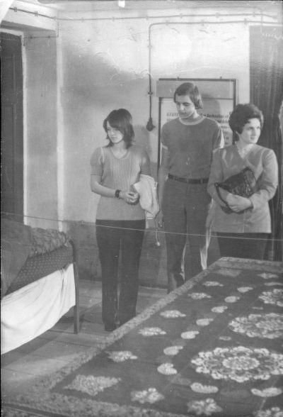 Fotó, látogatók a múzeumban