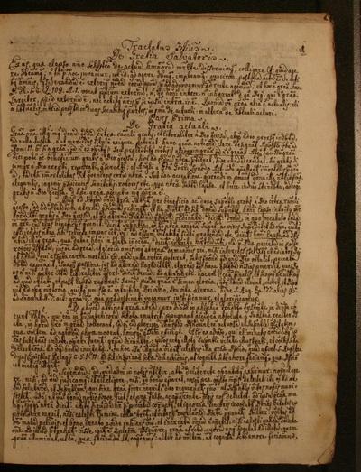 Manuscriptum Pris Josephi Jacosics a Buda N. 6