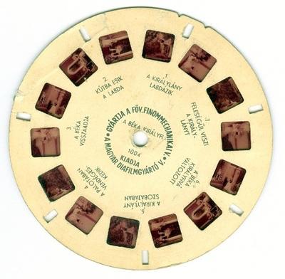 Békakirályfi - sztereó diakorong