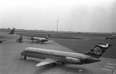 KLM Royal Dutch Airlines repülőgépe