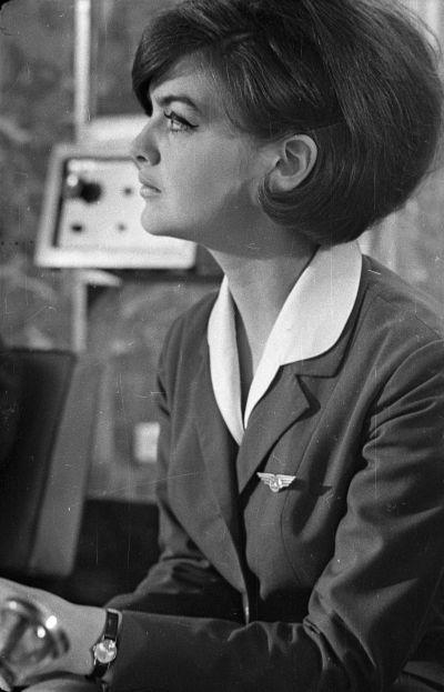 A Malév Nemzetközi légikisasszony-vetélkedője