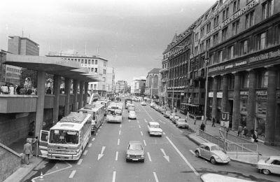 Kölni utcakép, belváros