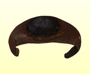 Bronzgyűrű