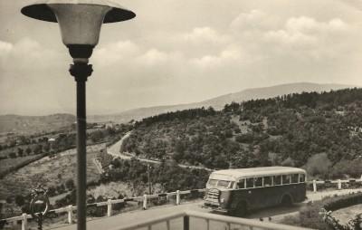 Kilátás a Mecsek SZOT üdülőszálló teraszáról