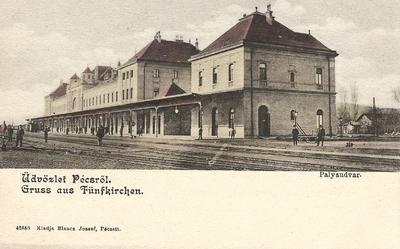 Pécsi Főpályaudvar