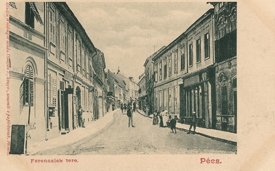Pécsi Ferencesek tere