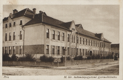 Gyermekgyógyászati Klinika 1928-ban