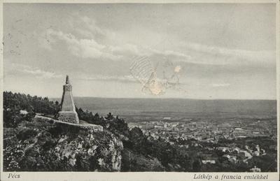 Francia emlékmű a Mecseken