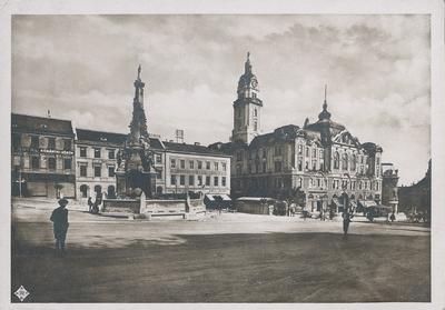 Városháza a Széchenyi térről