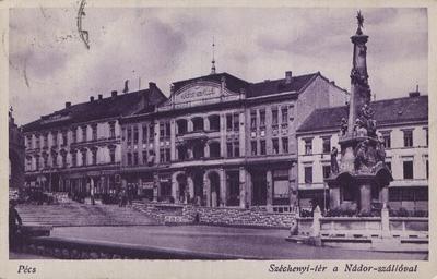 Széchenyi tér a Nádor szállóval