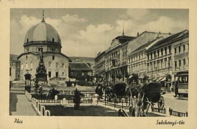 Széchenyi tér 1935-ben