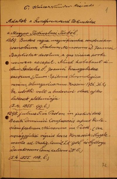 Osztályfőnöki órák II-III-IV.