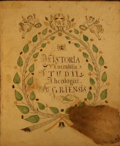 Historia Teologici Agriensis