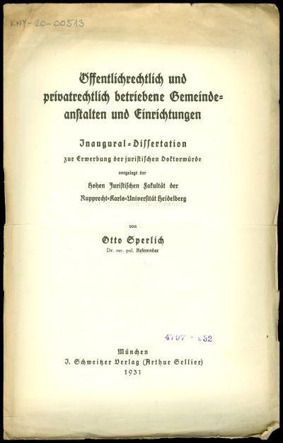 Öffentlichrechtlich und privatrechtlich betriebene Gemeindeanstalten und Einrichtungen