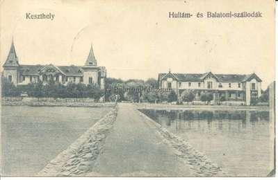 Keszthely, Hullám és Balaton szállodák
