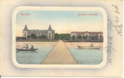 Keszthely, Balatoni szállodák