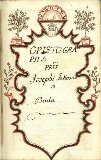 Opistographa