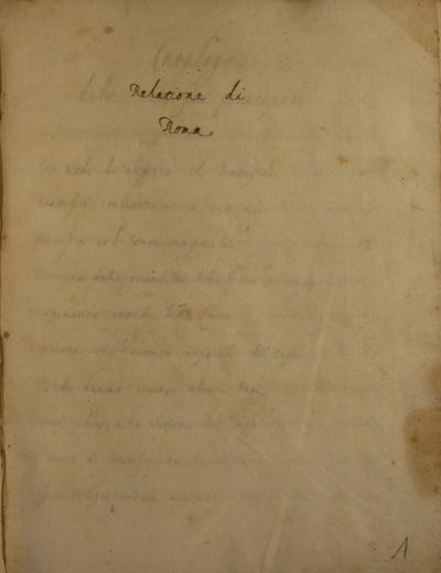 Historia di Roma et Umbria