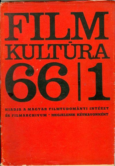 Filmkultúra 1966/1. szám