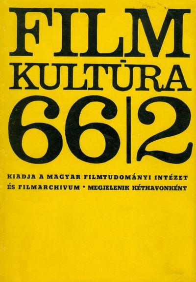 Filmkultúra 1966/2. szám