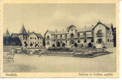 Keszthely, Balaton és Hullám Szállók