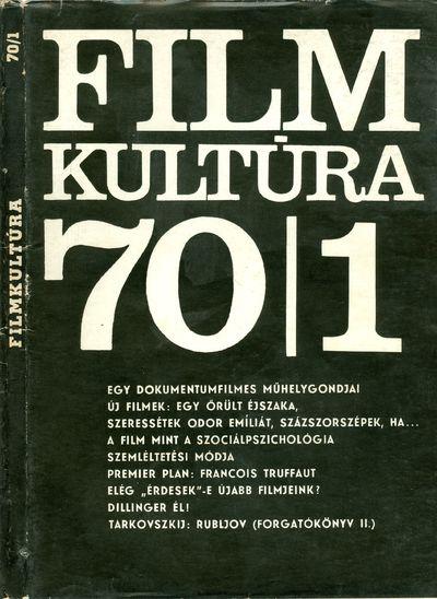 Filmkultúra 1970/1. szám
