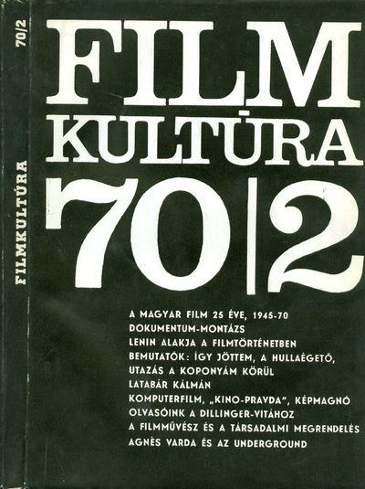 Filmkultúra 1970/2. szám