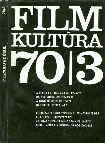 Filmkultúra 1970/3. szám