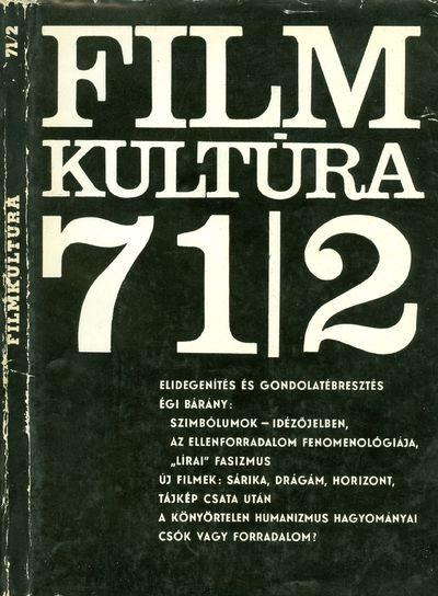 Filmkultúra 1971/2. szám