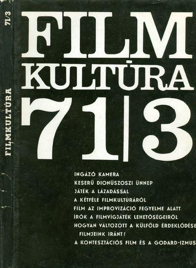 Filmkultúra 1971/3. szám