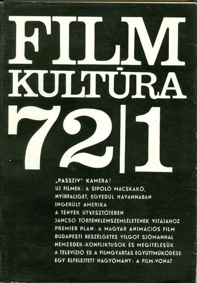Filmkultúra 1972/1. szám