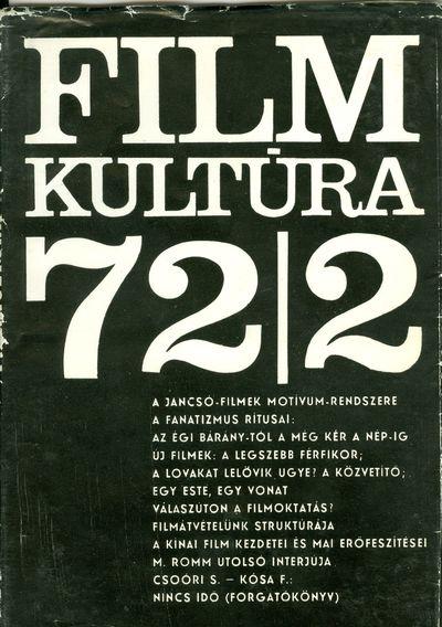 Filmkultúra 1972/2. szám