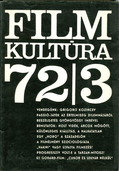 Filmkultúra 1972/3. szám