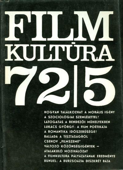 Filmkultúra 1972/5. szám