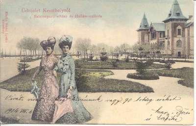 Üdvözlet Keszthelyről, Balatonparti sétány és Hullám-szálloda