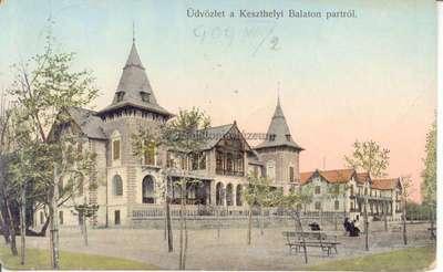 Üdvözlet a keszthelyi Balaton-partról